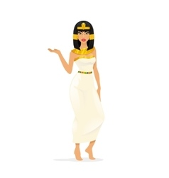 Egypt queen cleopatra vector