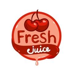 Fresh juice emblem 9 vector