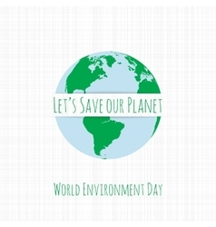 World Environment Day Ecology Banner vector image