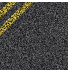 Stripes on asphalt vector