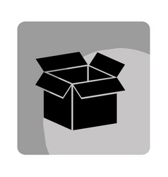 Box carton packing icon vector