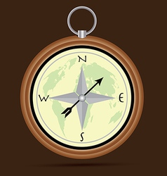 The Compass vector image