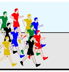 Athletics racewalking-1 vector