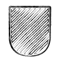 badge in monochrome blurred contour and striped vector image vector image