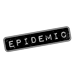 Epidemic rubber stamp vector