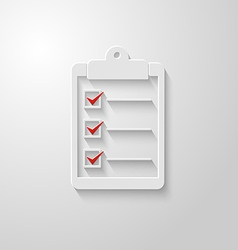 Check list icon 2 vector
