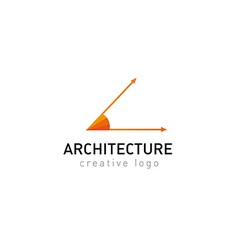 Development creative logo architecture vector