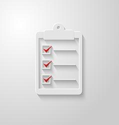 Check list icon 2 vector