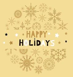 Christmas card105 vector