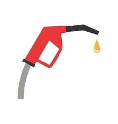 gun fuel service station vector image