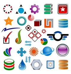 Logo designer vector