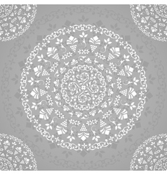 Ornamental Seamless Lace Background vector image vector image