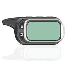 remote car alarm 01 vector image vector image