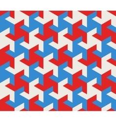 Seamless geometric triangle tessellation vector