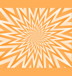 abstract orange geometric design background vector image
