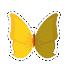 Cartoon butterfly animal insect fly vector