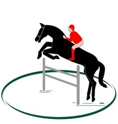 Equestrian sport-1 vector