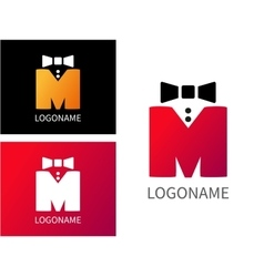Letter M logo for Business vector image vector image