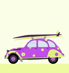 surf funny car vector image