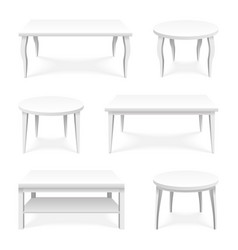table icons set isometric top isolated empty vector image vector image