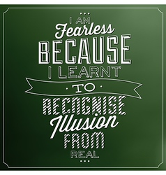Typographic quote template vintage background vect vector