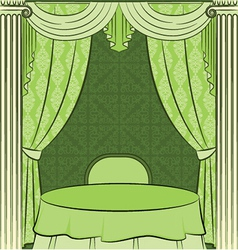 Vintage furniture vector