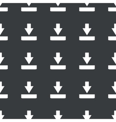 Straight black download pattern vector