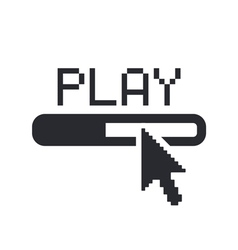 Player icon vector