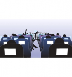 passengers vector image vector image