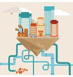 City concept vector
