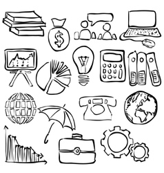 Economy sketch images vector