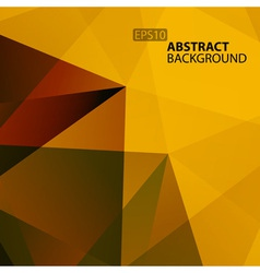 Abstract warm geometric background vector