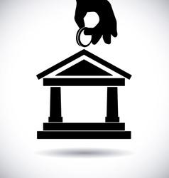 Bank design vector