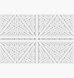 Infinity data matrix visualization vector