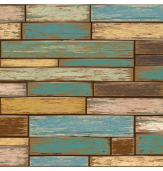 Old paint wood texture seamless background vector image vector image