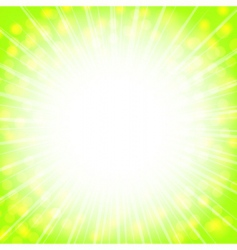 sunny explosion vector image vector image