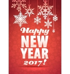 Happy new year greeting card background with vector