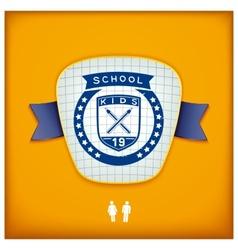 Design school emblem vector