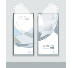 empty frames with abstractio vector image vector image