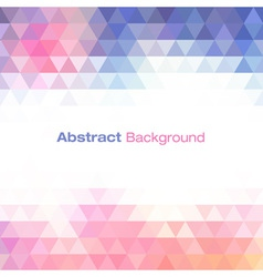 Colorful light geometric background for your desig vector