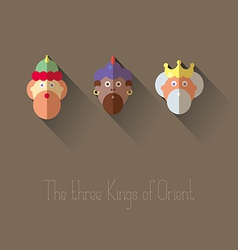 The three kings of orient vector