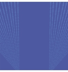 Binary code blue background vector