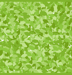 Folliage summer seamless pattern endless leaves vector
