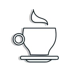 Coffee time theme design vector image