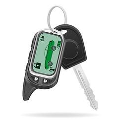 Remote car alarm 03 vector
