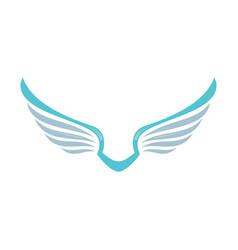 wing logo company vector image vector image