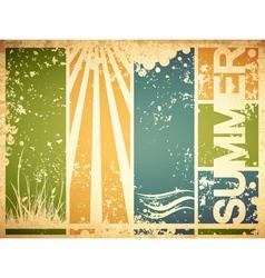Vintage Summer vector image