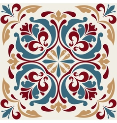 Square ornament vector