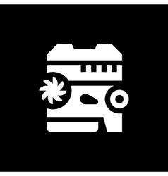 Modern motor icon vector image vector image