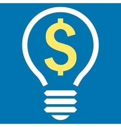 Patent Flat Icon vector image